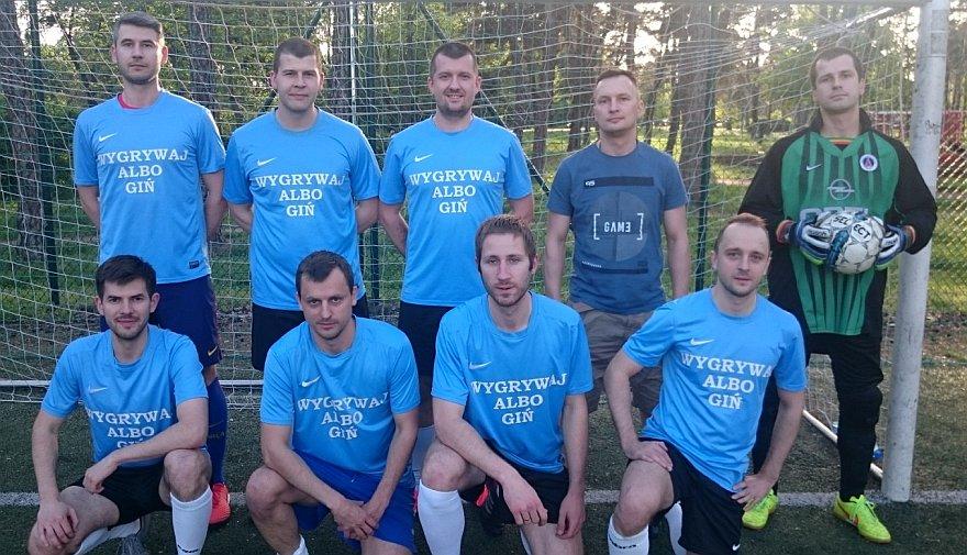Drużyna WYGRYWAJ ALBO GIŃ | Toruńska Liga Szóstek Piłkarskich